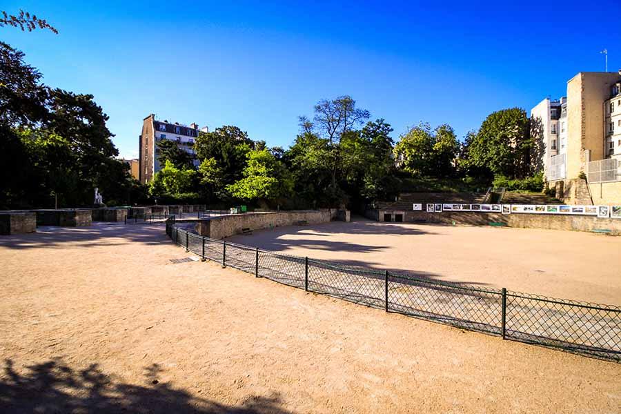 Arenes de lutece au coeur du Paris Gallo-Romain