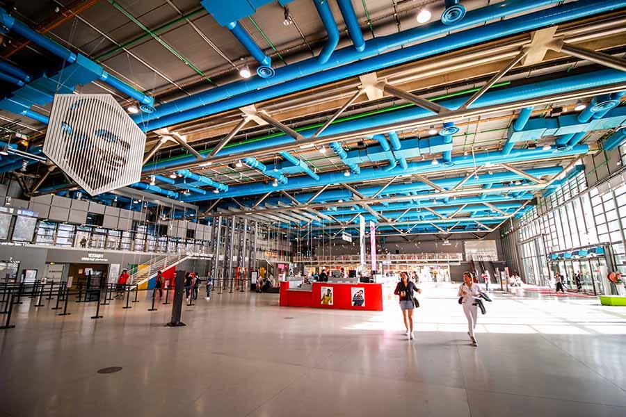 Hall centre pompidou