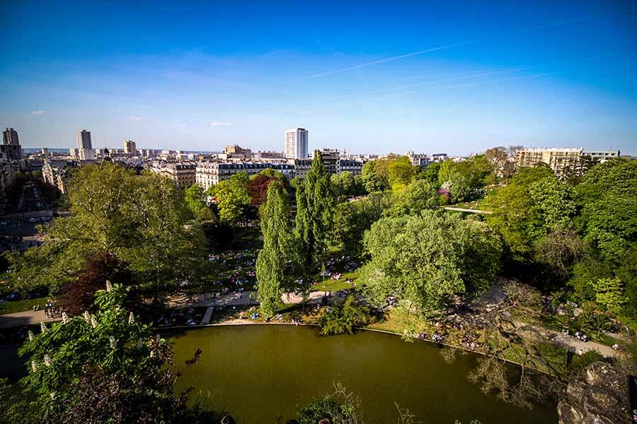 Espaces verts de Paris