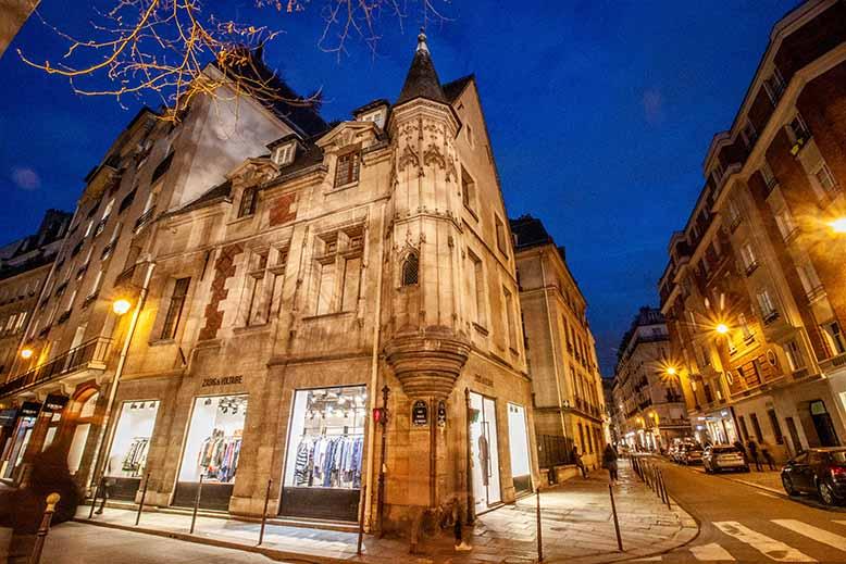 rue des francs bourgeois rue vielle du temple hotel particulier marais