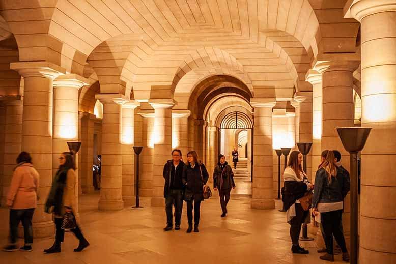 Crypte panthéon quartier latin