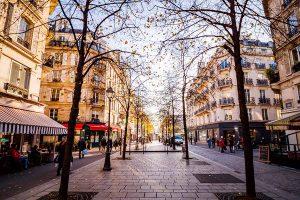 Place parisienne du Marais