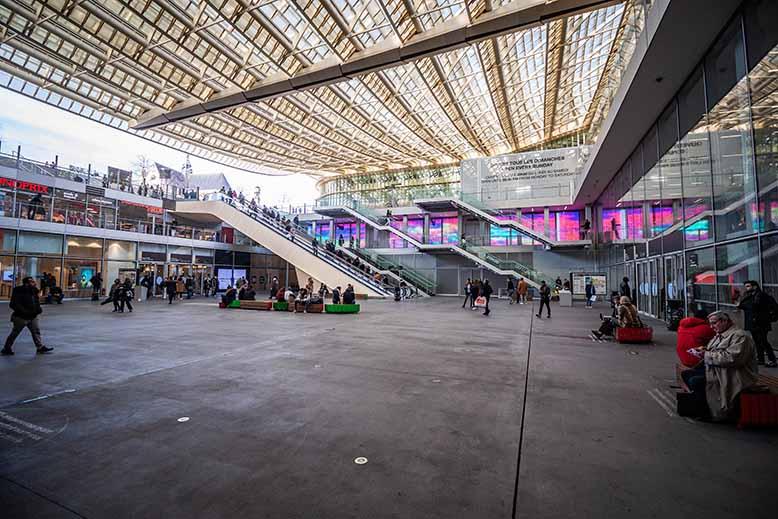 forum des halles hiver plan large