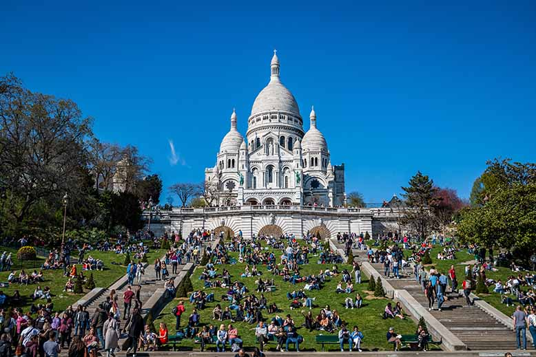 Butte Montmartre Square Louise Michel