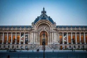Champs Élysées Petit Palais pleine façade