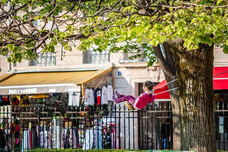Quels parcs de Paris visiter avec des enfants