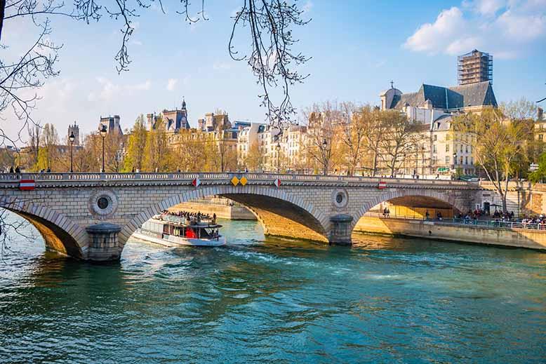 Pont Louis Philippe Seine Péniche Ile Saint Louis