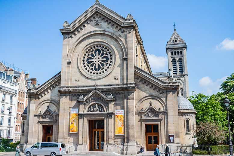 Montparnasse église Notre Dame des Champs