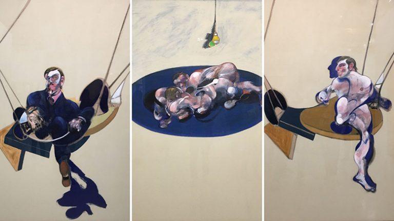 Exposition temporaire Bacon en toutes lettres au Centre Pompidou