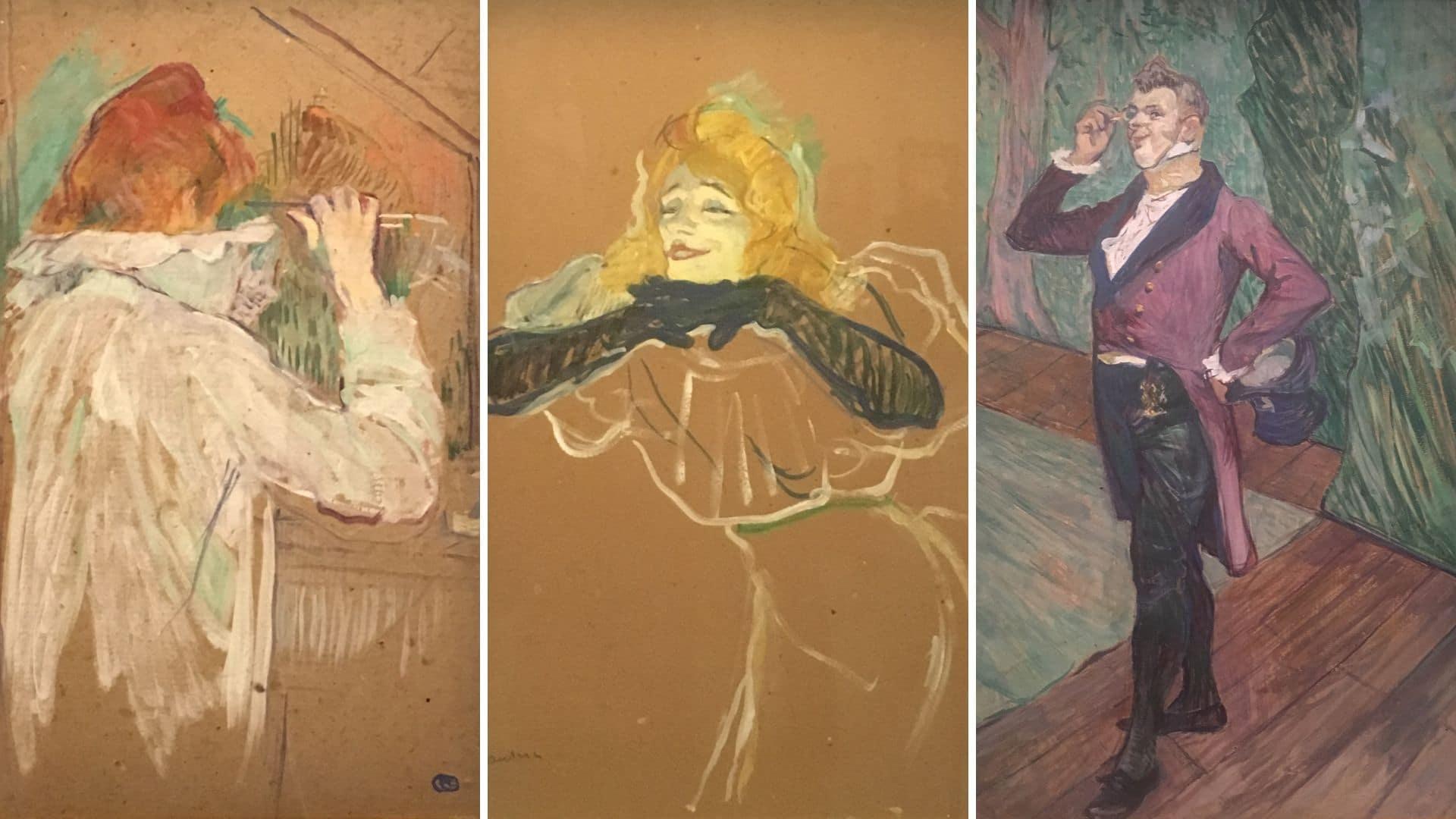 Visiter l'exposition temporaire Toulouse Lautrec au Grand Palais
