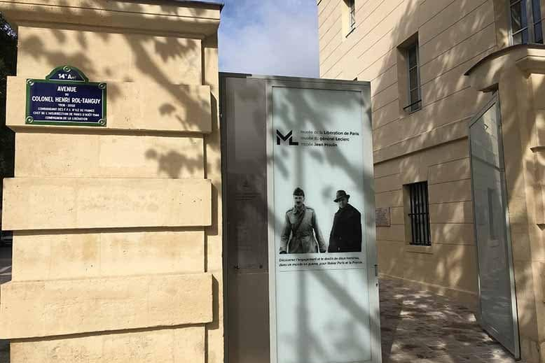Entrée du musée de la libération de Paris